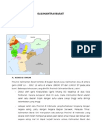 Sekilas Kalimantan Barat 2014
