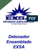 Accesorios y Explosivos -Minera Caudalosa Chica-Agosto 2007