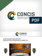 Artigo Concis Audiogame Educativo 2015
