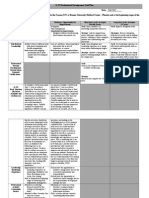professional development plan grid