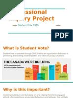 professional inquiry project presentation