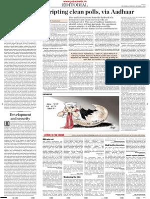The Hindu Editorial October 2015 | Reserve Bank Of India | Nepal