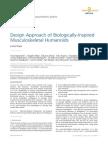 Design Approach of BiologicallyInspired