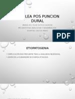 Cefalea Pos Puncion Dural