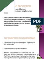 Slaid Kepemimpinan Keusahawanan