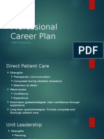 professional career plan ppt no voice over