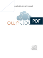 Manual de Instalacion de Owncloud Terminado