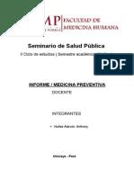Informe de Salud Preventiva -SAL PUB (Anthony)