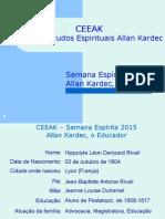 CEEAK_Allan Kardec, o Educador