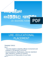ims lre educational placement power point sped