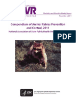animal rabies prevention and control 2011