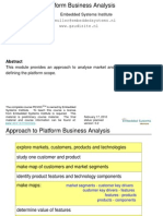 Module Platform Business Analysis Slides by Gerrit Muller