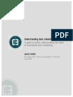 Understanding Dock Scheduling White Paper