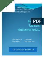 Peran Perawat Pada Bab KPS Akreditasi KARS Versi 2012 RSNH Bantul DIY