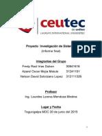 Proyecto Informe Final