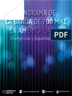 Panorama Banda 700mhz America Latina