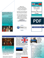 sister cities brochure