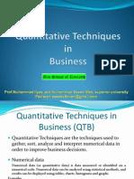 Quantative Techniqes