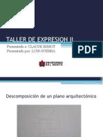Taller de Expresion II