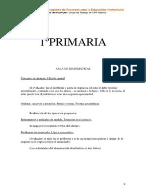 Colección De Problemas De Matemáticas Primero A Sexto Grado