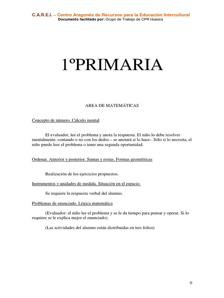 Coleccion De Problemas De Matematicas Primero A Sexto Grado