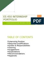 portfolio internship margie