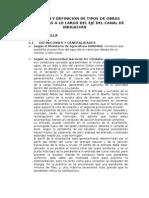 1. Ubicación y Definición de Tipos de Obras Conexas