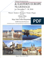 Pilgrimage to Poland and Eastern Europe