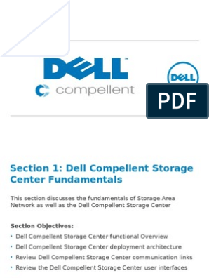 Dell Compellent- Section 1 | Computer Data Storage | System
