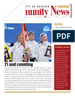 April 2010 Community News