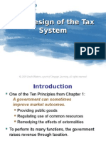 The Design of A Tax System