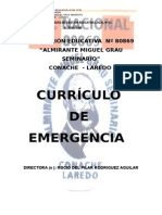 Curriculo de Emergencia 2015