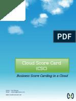 Cloud Score Card Article 1