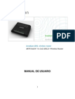 Arcadyan ADSL AR7516ALW Manual de Usuario