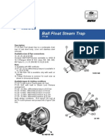 Ball Float Steam Trap FT20