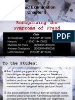 Recognizing the Symptoms of Fraud