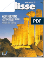 Guida Turistica Provincia Agrigento dell'Alitalia 2003 in Italiano e Inglese, English
