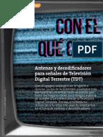 RC461 Estudio Antenas Decodificadores
