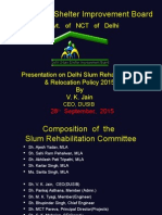 Rehablitation Slum Policy 2015 Presentation