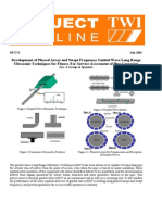 PR7373-ProjectOutline - V~e ultrasonic testing