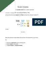 19  random variables