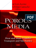 Porous Media Heat and Mass