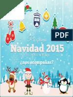 """Programa """"Navidad en San Martin de La Vega 2015"""""""