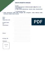 Biodata Buku Wisuda Alumni Stie1