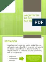 Arquitectura Software