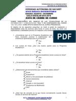 Tarea 14. Encuesta de Cierre de Curso TCGI 2015-2016.