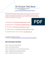 MKT 100 Strayer - Includes All Quizzes - Strayer Latest