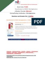 [Braindump2go] 70-494 Dumps Free Download 11-20
