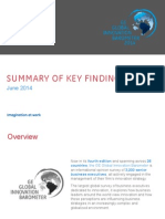 GE 2014 Global Innovation Barometer Summary of Findings1