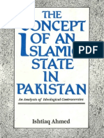 Concept of an Islamic State in Pakistan